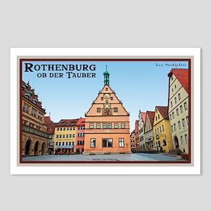 Rothenburg Marktplatz Postcards (Package of 8)