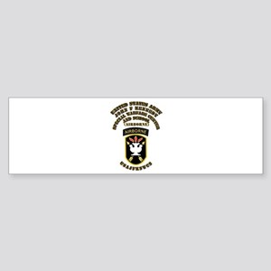 SOF - USAJFKSWCS SSI with Text Sticker (Bumper)