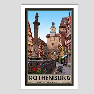 Rothenburg Markusturm Postcards (Package of 8)