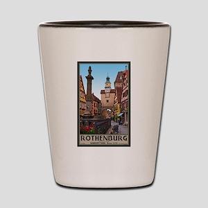 Rothenburg Markusturm Shot Glass