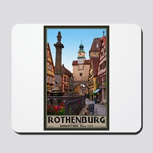 Rothenburg Markusturm Mousepad