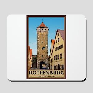 Rothenburg Rödertor Mousepad