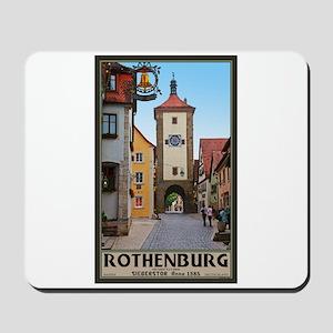 Rothenburg Sieberstor Mousepad