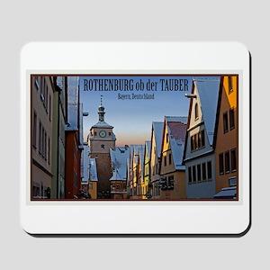 RothenburgWeisserturmW Mousepad