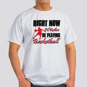 Basketball Gift Designs Light T-Shirt