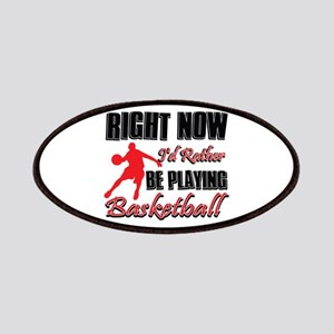 Basketball Gift Designs Patches