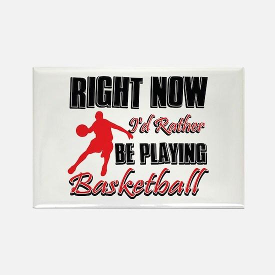 Basketball Gift Designs Rectangle Magnet
