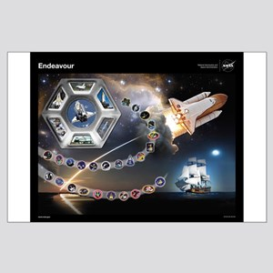 Endeavour Space Shuttle Large Poster