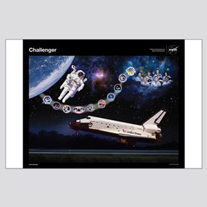 Challenger Space Shuttle Large Poster