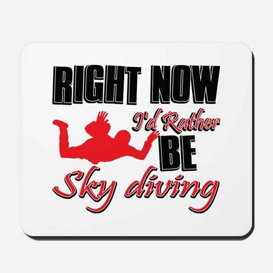 Sky diving Gift Designs Mousepad