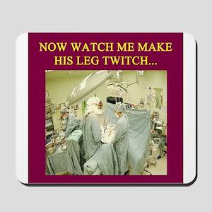 funny surgeon jokes Mousepad