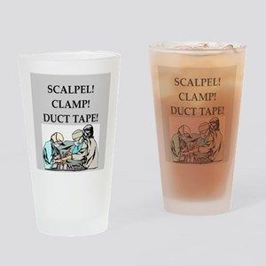 funny surgeon jokes Drinking Glass