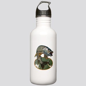 Musky Fishing Stainless Water Bottle 1.0L