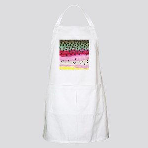 Rainbow Trout Skin Fishing Apron