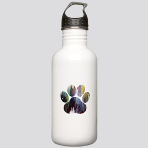Dog Paw Stainless Water Bottle 1.0L