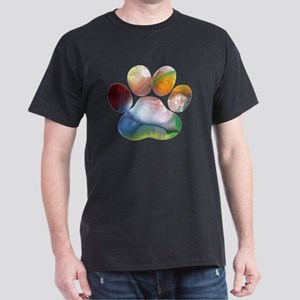 Dog Paw Art T-Shirt