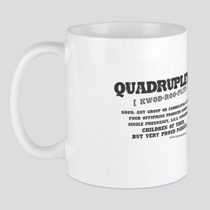 """Quadruplets Definition"" Mug"
