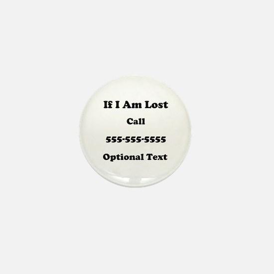 Call Me Mini Button