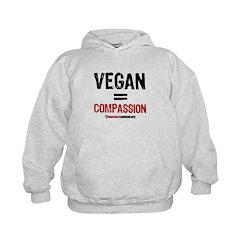 VEGAN=COMPASSION - Hoodie