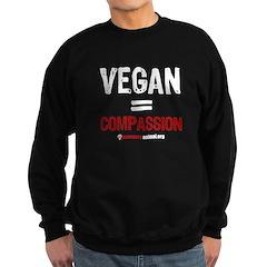 VEGAN=COMPASSION - Sweatshirt (dark)