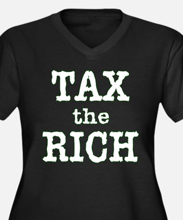 TAX the RICH Tshirts and Products Women's Plus Siz