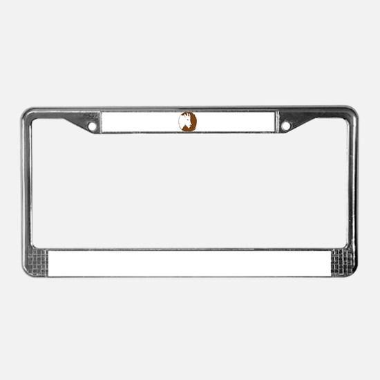 Clan Goat License Plate Frame