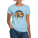 Motorcycle Skyway #1 Women's Light T-Shirt