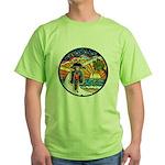 Motorcycle Skyway #1 Green T-Shirt