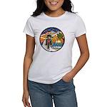 Motorcycle Skyway #1 Women's T-Shirt