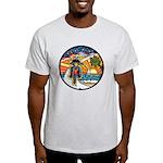 Motorcycle Skyway #1 Light T-Shirt