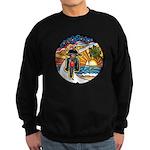 Motorcycle Skyway #1 Sweatshirt (dark)