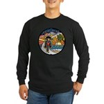Motorcycle Skyway #1 Long Sleeve Dark T-Shirt
