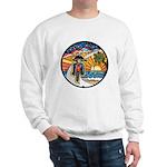 Motorcycle Skyway #1 Sweatshirt