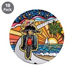 """Motorcycle Skyway #1 3.5"""" Button (10 pack)"""
