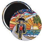 "Motorcycle Skyway #1 2.25"" Magnet (10 pack)"