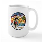 Motorcycle Skyway #1 Large Mug