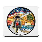 Motorcycle Skyway #1 Mousepad