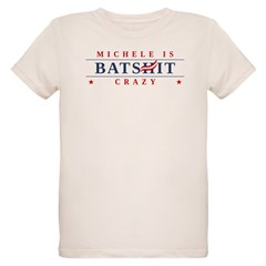 Michele is Batshit Crazy Organic Kids T-Shirt