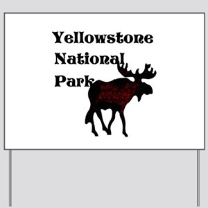 Personalized Moose Yard Sign
