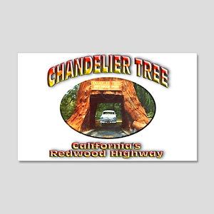 Chandelier Tree 22x14 Wall Peel