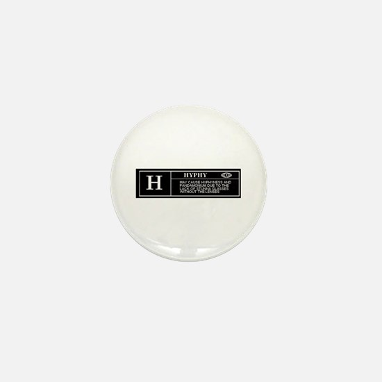 Rated H (HYPHY) Mini Button