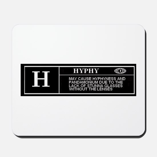 Rated H (HYPHY) Mousepad