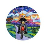 "MC - Country Angel 3.5"" Button (100 pack)"