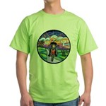 MC - Country Angel Green T-Shirt