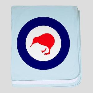 New Zealand Roundel baby blanket