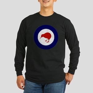New Zealand Roundel Long Sleeve Dark T-Shirt