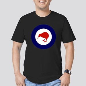 New Zealand Roundel Men's Fitted T-Shirt (dark)