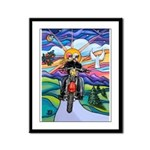 MC - Country Angel Framed Panel Print