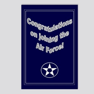 Congrats on Joining Air Force Postcards (Package o