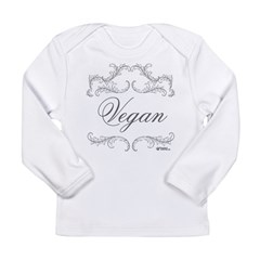 VEGAN 03 - Long Sleeve Infant T-Shirt